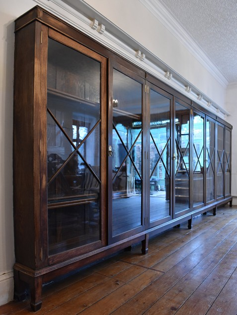 18 FOOT WIDE OAK DISPLAY CABINET-haes-antiques-18 FT WIDE HOS CABINET (11) FM_main_636459458226978811.jpg